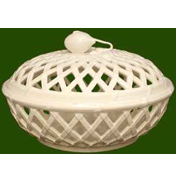 Pierced Lattice Basket