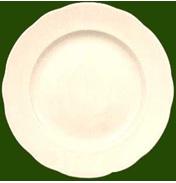 Leeds Pottery Creamware Charlotte Soup Plate