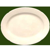 Charlotte Small Oval Serving Plate