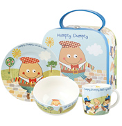 Humpty Dumpty 3 Piece Breakfast Set in Gift Box