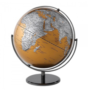 Enesco 30cm Gold World Globe