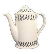 Animal Instinct Coffee Pot