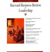 Harvard Business Review on Leadership