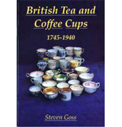 British Tea and Coffee Cups 1745 to 1940