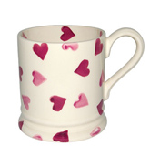 Emma Bridgewater Pink Hearts 1/2 Pint Mug 0.3&hellip;
