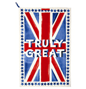 Union Jack Truly Great Tea Towel