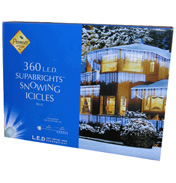Premier 360 LED Snowing Icicles- Blue