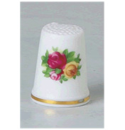 Old Country Roses Thimble