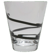 Ebony Small Tumbler Pair