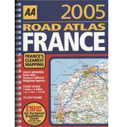 AA Road Atlas France 2007 Edition