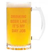Day Job Beer Mug