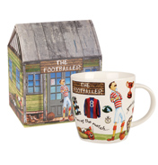 The Footballer Squash Mug 390ml in Gift Box