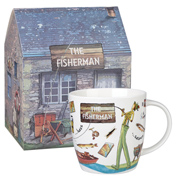 The Golfer Squash Mug 400ml in Gift Box