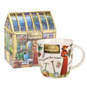 Lady Gardener Squash Mug 400ml in Gift Box