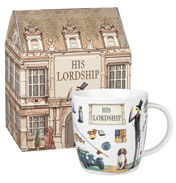 His Lordship Squash Mug 390ml in Gift Box