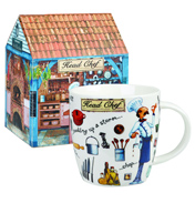 Head Chef Squash Mug 390ml in Gift Box