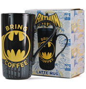 "Batman ""Bring Coffee"" Latte Mug (BOXED)"