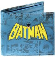 Batman Logo Bi-folding Wallet (BOXED)