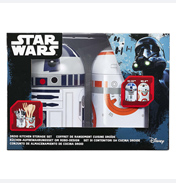 BB-8 & R2-D2 2 Pack Kitchen Storage Set