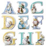The World Of Beatrix Potter Character Alphabet