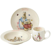 Flopsy, Mopsy & Cotton-tail 3 Piece Nursery Set