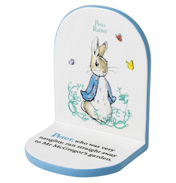 Peter Rabbit Ceramic Bookend
