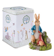 Peter Rabbit in the Garden Figurine