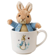 Peter Rabbit Mug & Soft Toy Gift Set