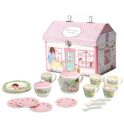 Melamine Tea Set in House Box
