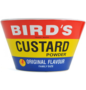 Bird's Custard Powder Ceramic Bowl