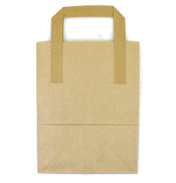 "Small Tree Saver Brown Paper Bag 7"" x 3.5"" x 9""…"