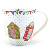 The Caravan Trail Festival Huts Crush Mug