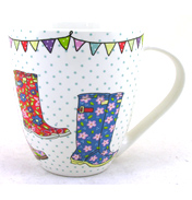 Festival Wellies Crush Mug