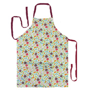 Queens Caravan Trail Mint Apron