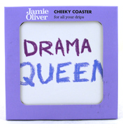 Jamie Oliver Cheeky Mug Drama Queen Coaster