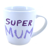 Jamie Oliver Cheeky Mugs Super Mum Mug