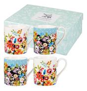 Larch Flower 4 Mug Gift Set