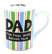 Dad's The Boss Mug