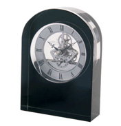 Black Curve Clock