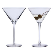 Bar Excellence Martini Glass (Pair)