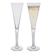 Sharon Champagne Flute Glasses
