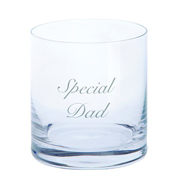 Just For You 'Special Dad' Tumbler Glass
