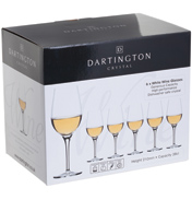 Dartington Crystal White Wine Glasses (6 Pack)