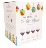 Festive Cheer Red Wine Glasses (4 Pack)