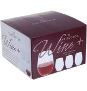 Dartington Wine+ Red Wine Stemless Glasses (4…