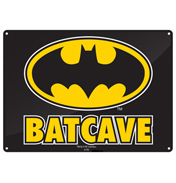 DC Comics Batman Batcave SMALL Tin Sign