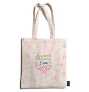 Wonder Woman Cotton Shopping Bag