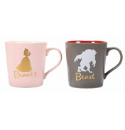 Beauty & The Beast Tapered Mugs (Set of 2)