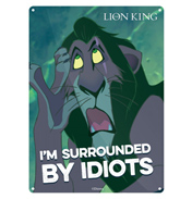 "Disney Lion King Scar ""I'm Surrounded By…"