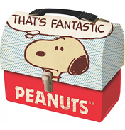 Snoopy Domed Tin Tote Peanuts